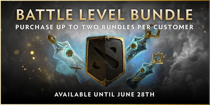 Valve выпустила Battle Level Bundle | Dota 2
